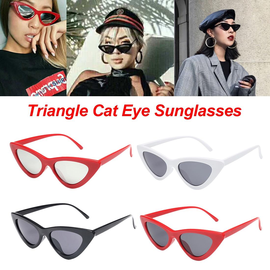 COLORATO COLORATA Trasparente Ovale Senza Montatura Cat Eye occhiali da sole UV400 Donna Da Uomo