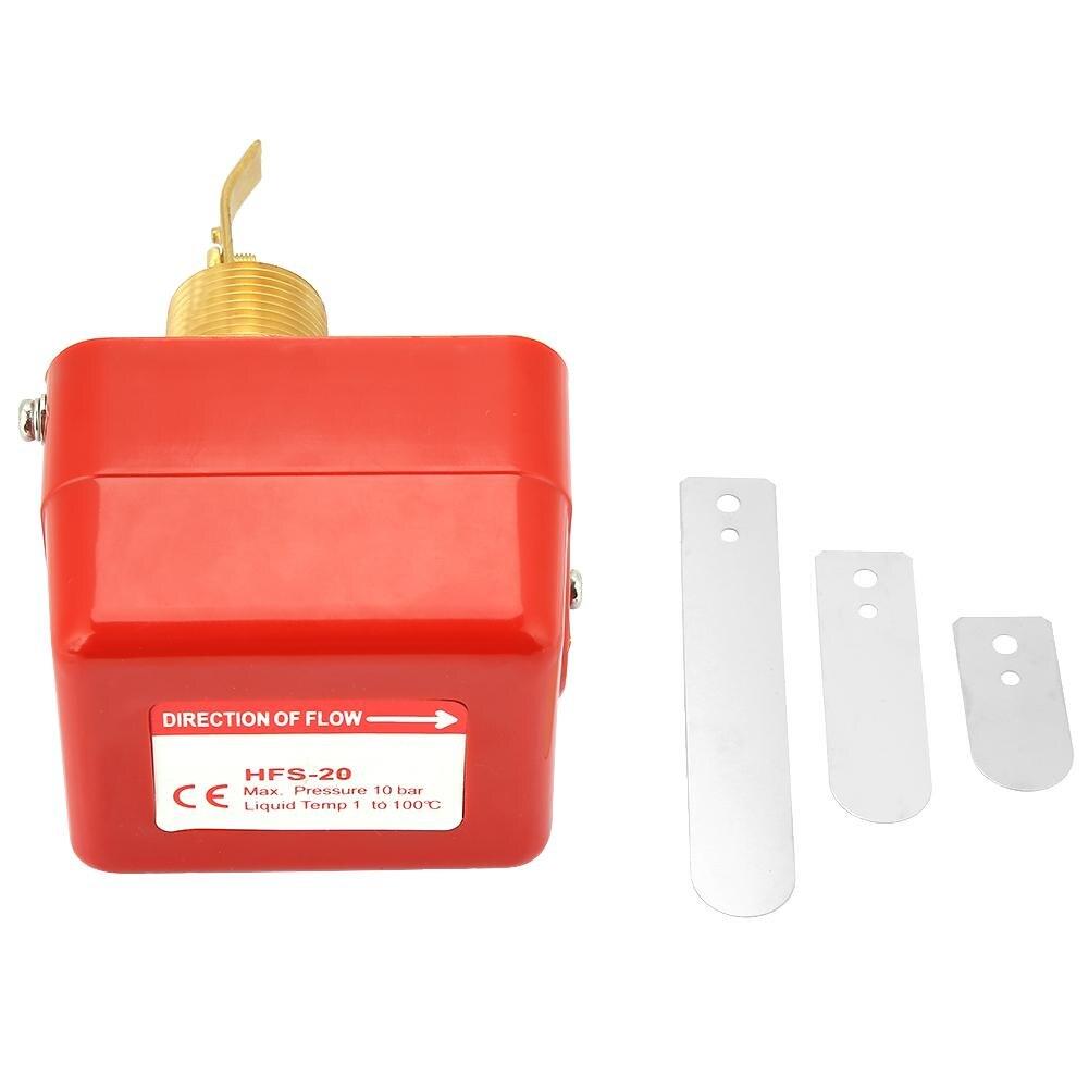 Vorsichtig 220 V Ac 15a Hfs-20 Dn20 Wasser Flow Paddel Control Schalter Spdt Kontakte 6-380 V Teil Edelstahl Typ Sanitär