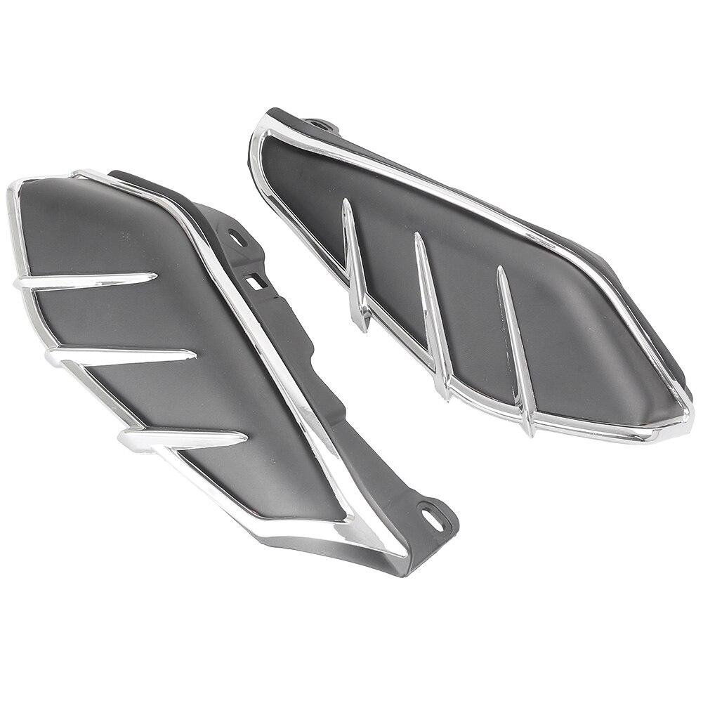 for Harley Davidson Motorcycle Mid Frame Engine Saddle Shield Heat Deflector Touring 2009 2010 2011 2012 2013 2014 2017 Black