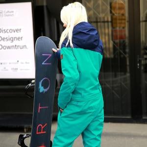 Image 3 - RUNNING RIVER Brand Waterproof Jacket For women Snowboard Suit women Snowboard Jacket Female Snowboarding Set Clothing #B8091