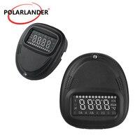 Hot A1 Car hud head up display Digital car speedometer GPS speedometer Car Alarm System Universal Overspeed Alarm #iCarmo