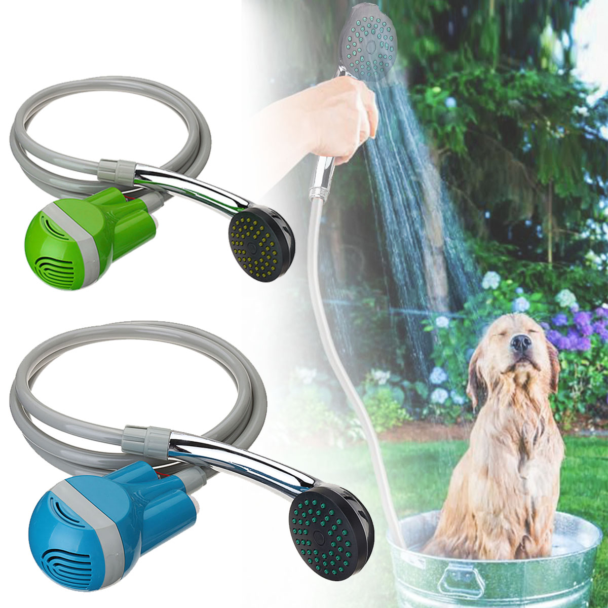 Cleaner Shower-Set Washing-Sprayer Water-Pumps Rechargeable Camping USB Caravan Travel