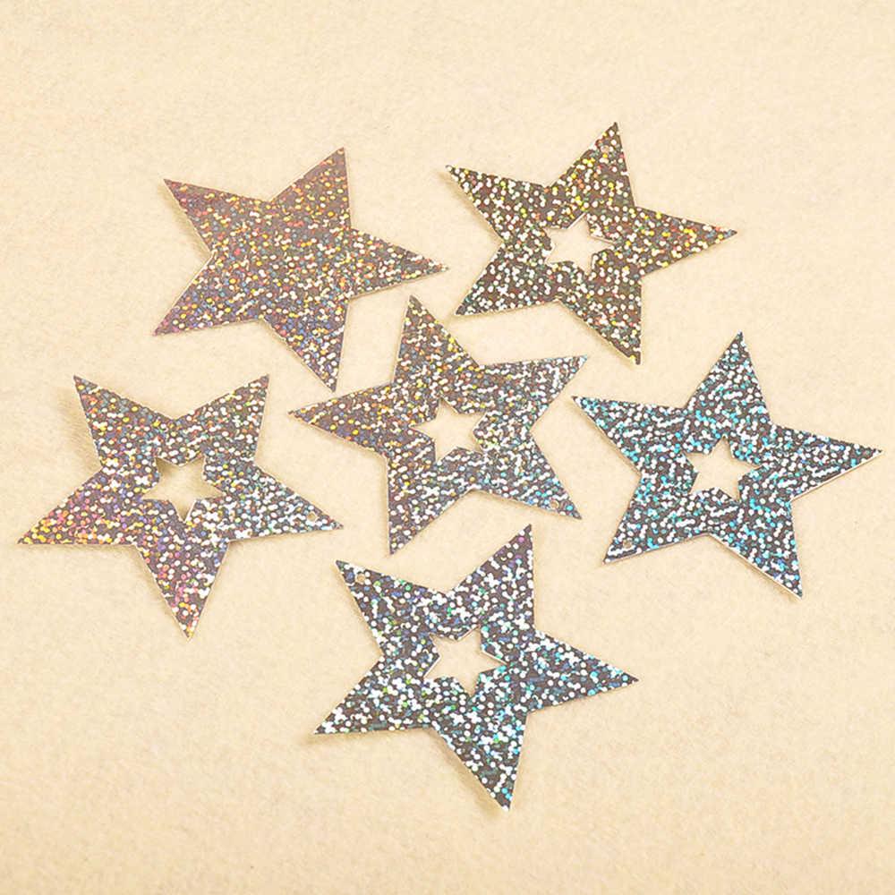 Cintas de globos, cinta láser de lentejuelas de estrella de cinco puntas, conjunto de cinta colgante de globo, embalaje DIY de fiesta, cintas de decoración de boda