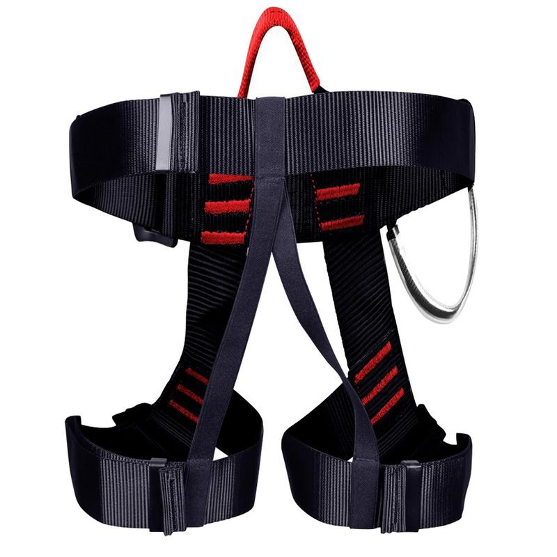 Professional Safety Belt Outdoor Rock Climbing Mountaineering Safety Belt Half Body Protecting Harness Rappel Type