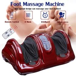 220V Electric Heating Foot Body Leg Massager Shiatsu Kneading Roller Vibrator Machine Reflexology Calf Leg Pain Relief Relax