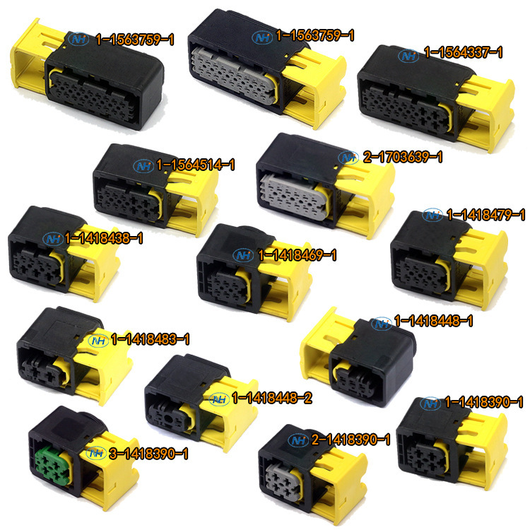 1 set wire harness automotive TE waterproof 18P /ways ecu auto connector 1 1563759 1