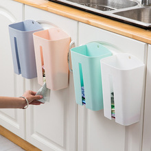 Garbage Trash Bags Dispenser Wall Mounted Plastic Storage Box Organizer Collection Housekeeping