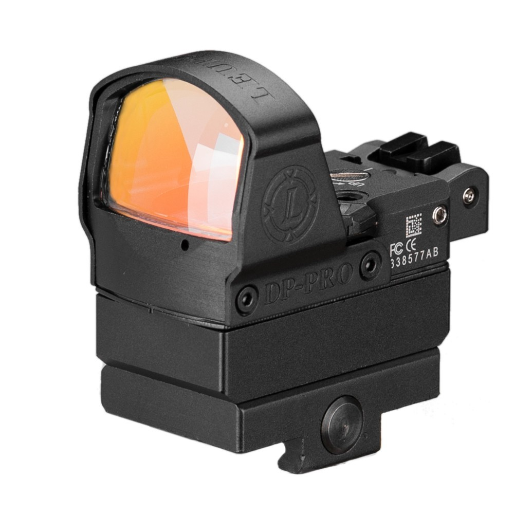 Image 2 - Tactical DP Pro Style Red Dot Reflex Sight Scope With Picatinny Mounts For Pistol Airsoft 1911 1913-in Riflescopes from Sports & Entertainment