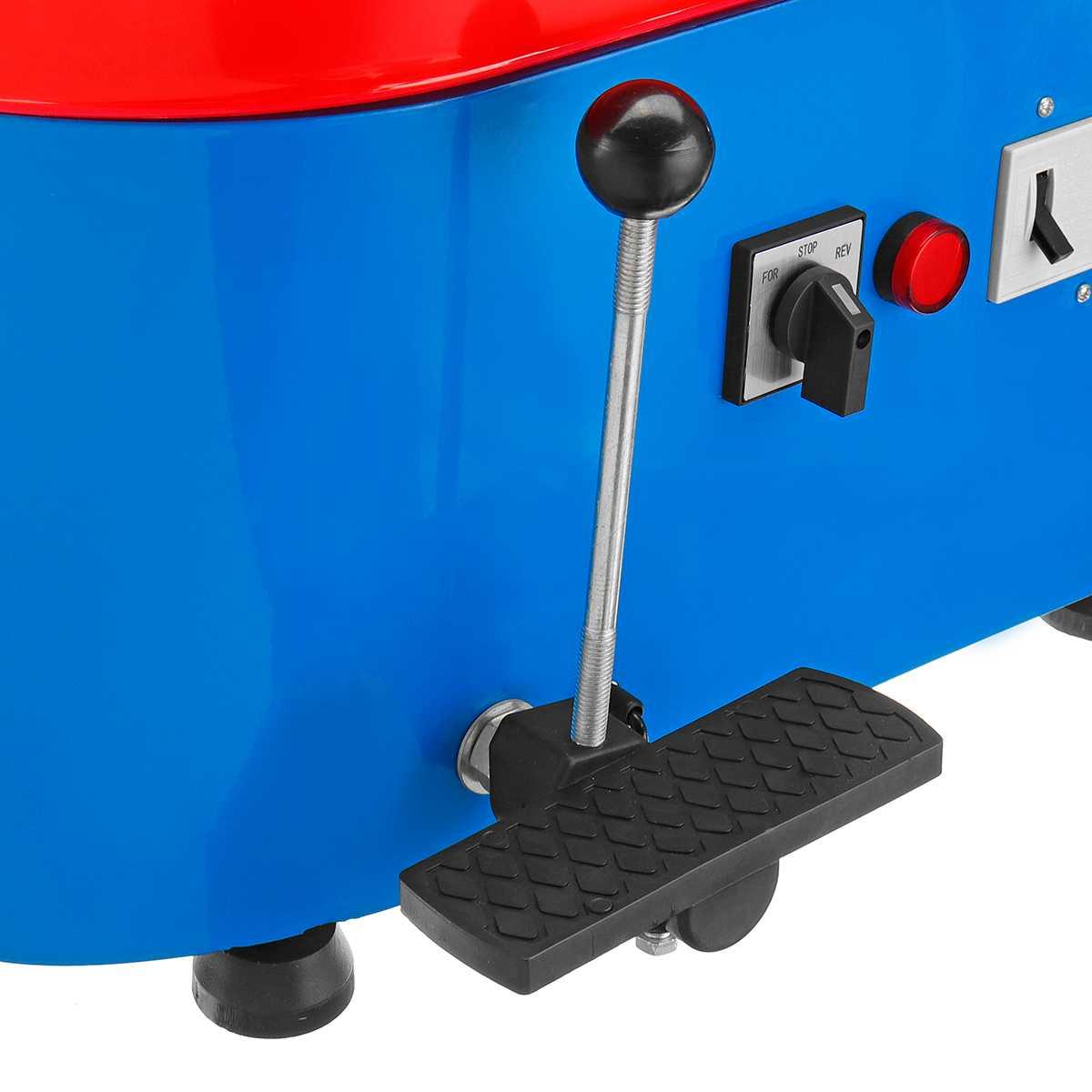 US Plug 350 W 110/220 V poterie électrique roue en céramique Machine poterie formant la Machine argile pour travaux pratiques outil céramique travail céramique argile - 5