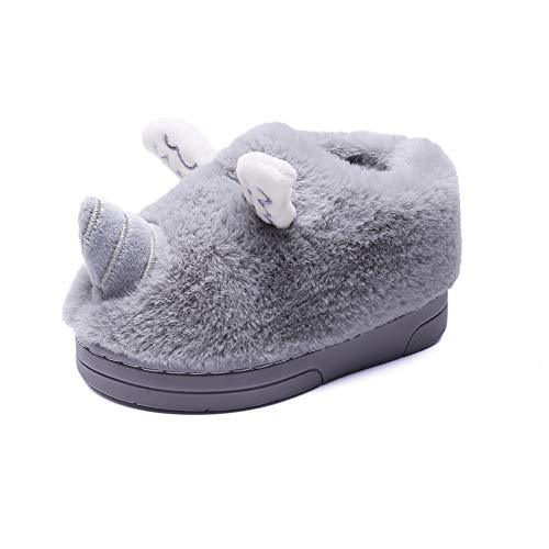 2d674bc1612ac MSMAX Kids Winter Indoor Slippers Cozy Cute Home Shoes for Girls Boys-in  Slippers from Mother & Kids on Aliexpress.com | Alibaba Group