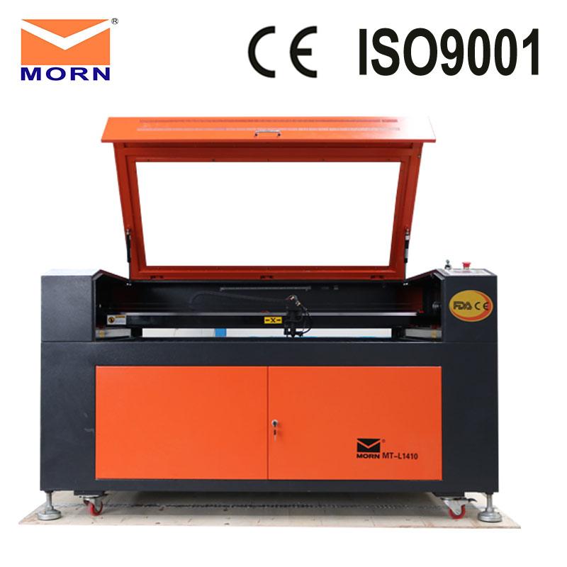 Chine prix pas cher CNC laser gravure machine de découpe MT-L1410 avec refroidisseur d'eau gratuit