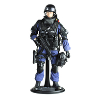 30cm 1:6 Realistic Solider Military Model Toy Gift with Movable Joint for Children Action & Toy Figures Soldier Army Men Shield
