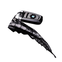 Crocodile leather car key chain accessories for men key wallets