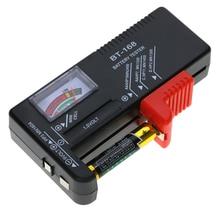 Тестеры аккумуляторной батареи батарея тестер Электрический тестер 1,5 в 9 в AA AAA кнопки сотового батарея Вольт тестер проверки цифровой дисплей