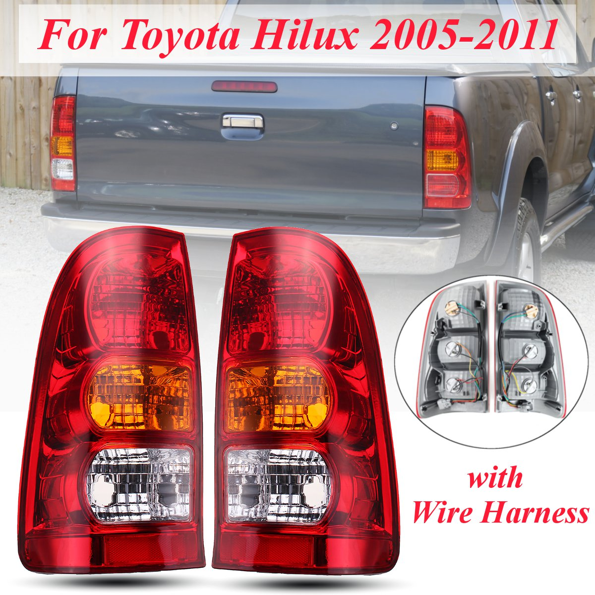 For 2005 2006 2007 2008 2009 2010 2011 TOYOTA TACOMA Fog Lights Lamps w//Wiring