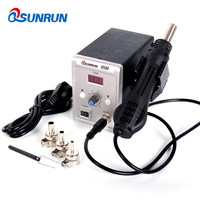 Qsunrun 700W Hot Air Gun 858D ESD Soldering Station LED Digital Desoldering Station Upgrade from 858D