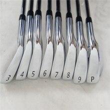 Утюги для гольфа 8 шт AP3 718 Железный набор 718 AP3 Гольф кованые клюшки для гольфа AP3 гольф-клубов 3-9Pw R/S гибкий стальной/графитовый Вал с крышкой головы