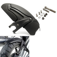 Black Rear Fender Wheel Hugger Mudguard Wheel Hugger Splash Guard for 2008 2009 2010 2011 2012 BMW R1200GS Adventure Accessories