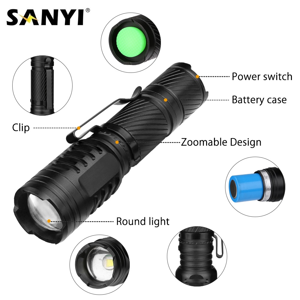 Led Lighting 2019 Latest Design Led Bulbs Holiday Lighting Led Flashlight Aaa Battery Flashlight Keychain Hunting Pocket Flashlight Tactical Free Shipping #nn24 At Any Cost