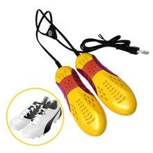 все цены на 2018 New Shoe Dryer Foot Boat Organizer Car Shape Voilet Light Apparatus Shoes Drugs Heater 220 V 10 W Eu Plug Light Shoes онлайн