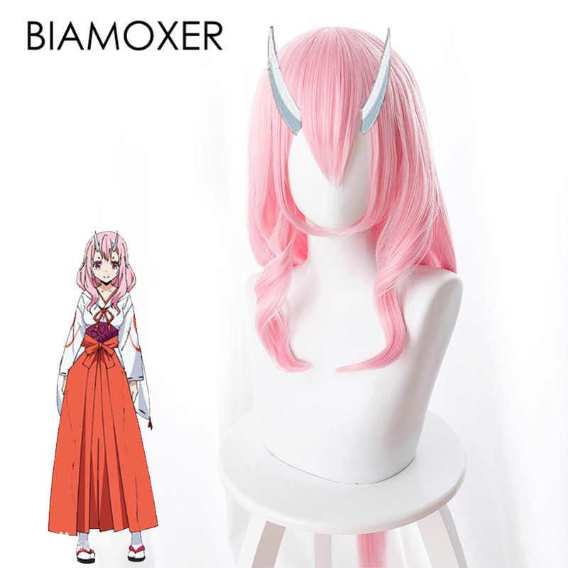 Shuna розовые парики для косплея аниме то время я получил Reincarnated как Slime парик волосы только Tensei shitara Slime Datta Ken Косплей