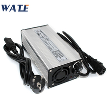 54.6V 7A Charger 13S 48V E Bike Li ion Battery Smart Charger Lipo/LiMn2O4/LiCoO2 battery Charger With Fan Aluminum Case
