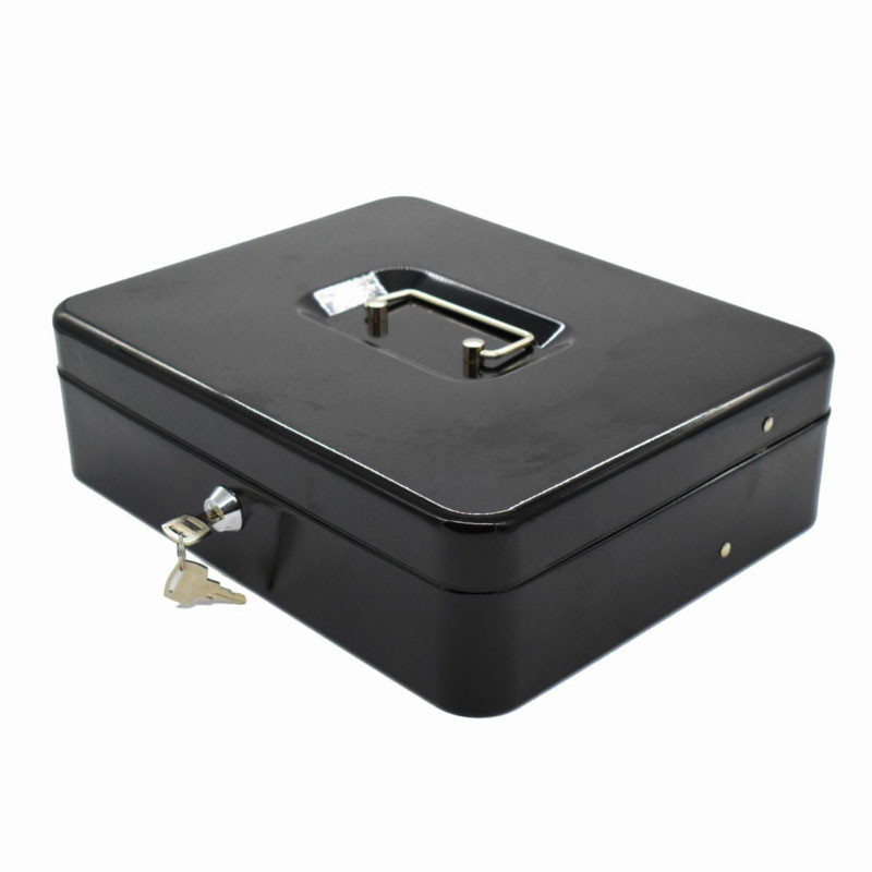 Portable Key Safety Safes Box Money Jewelry Storage Box Home School Office Tiered Tray Multi-Security Storage Box DHZ020