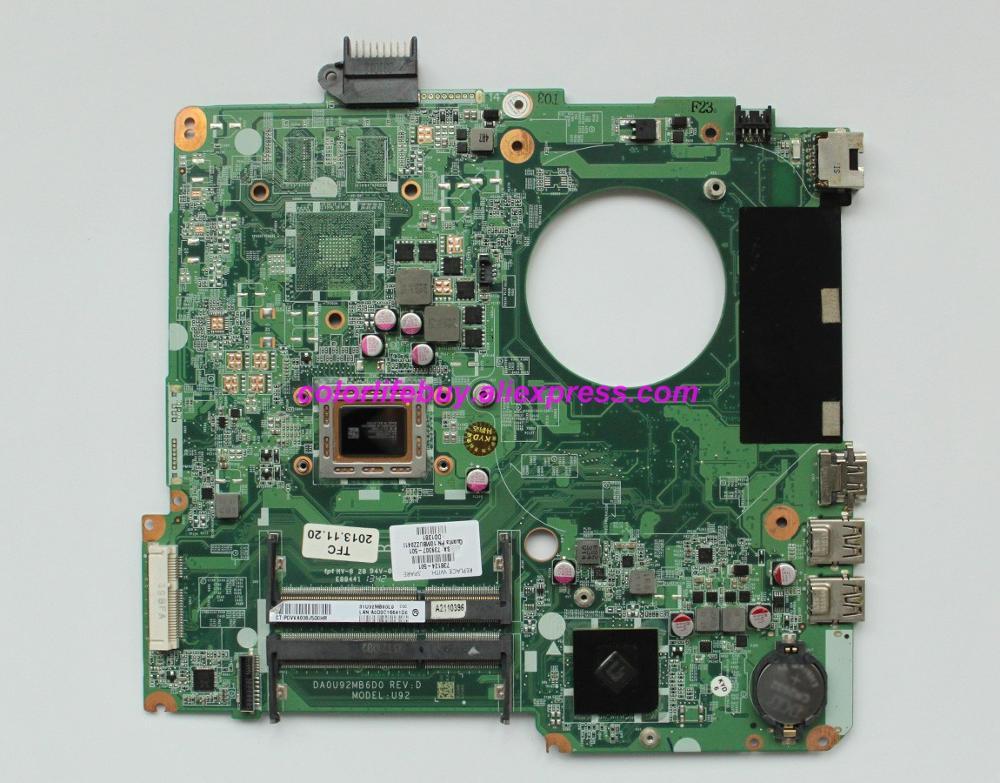 Натуральная 738124 501 738124 601 738124 001 аккумулятор большой емкости DA0U92MB6D0 UMA A76M w A10 5745M материнская плата для ноутбука hp 15 15 N серии ноутбук ПК-in Материнская плата для ноутбука from Компьютер и офис