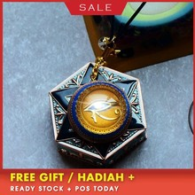AURA REIKI Orgonite Devil's Eye Pendant Natural Custom Pendant Anti-radiation Charm Pendant Necklace Jewelry For Women