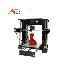 High Precision Upgraded Reprap Prusa i3 DIY 3D Printer Kit Anet A8/A6 3d Printer Metal With Acrylic + Lead Screw Frame Material