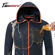 קרח משי מים דוחה דיג גברים בגדי טק הידרופובי בגדי מותג רישום kleding חיצוני קמפינג סלעית מעילים