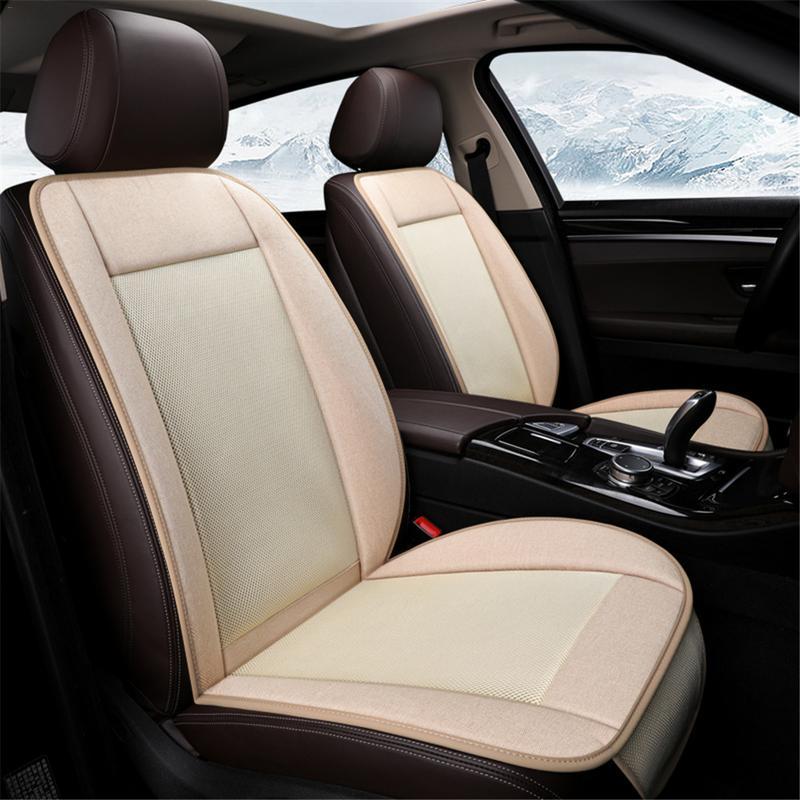 Vvcesidot ventilateur siège de voiture été respirant refroidissement climatiseur Cool accessoires de voiture réguler le vent à trois niveaux pour voiture camion