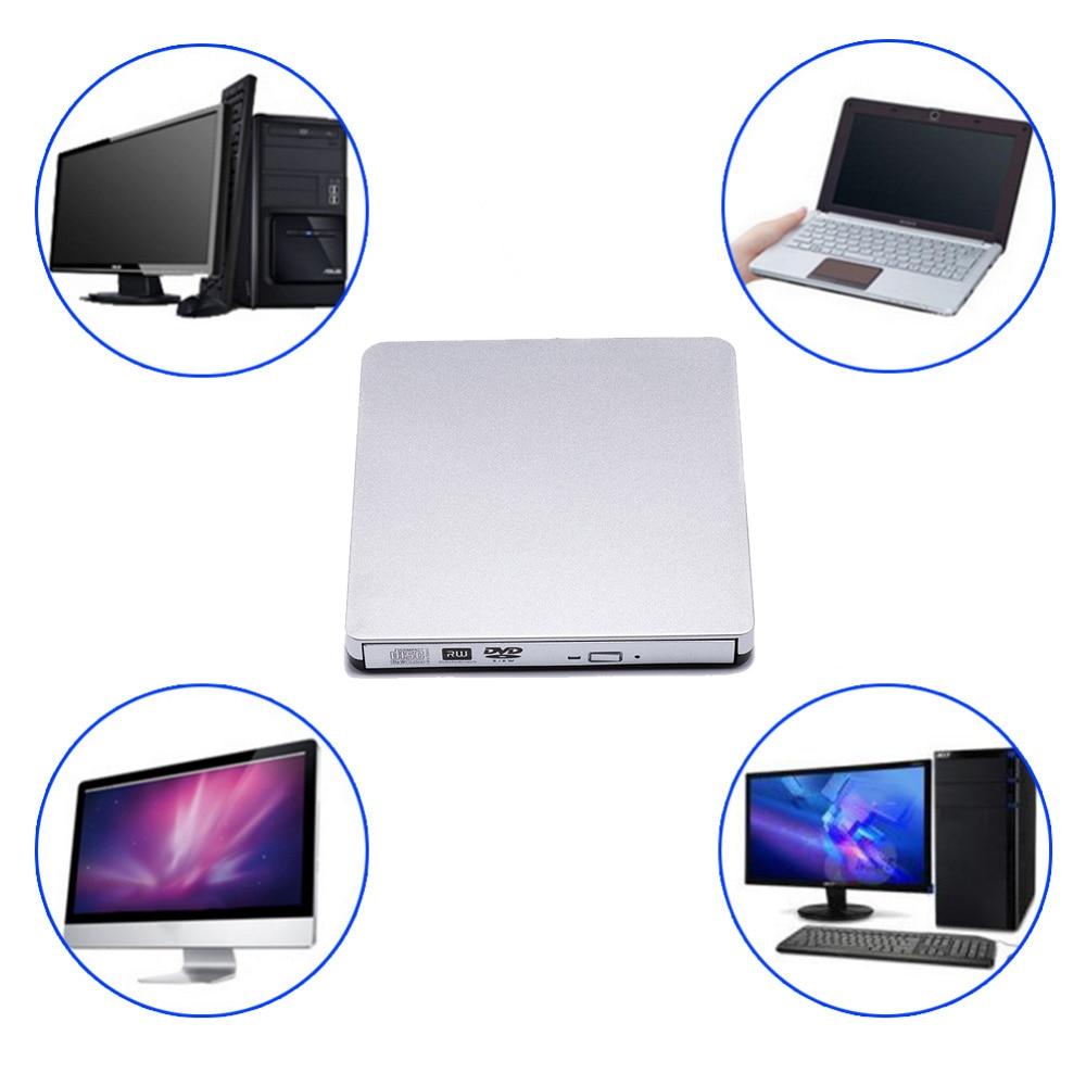USB 2.0 Grabadora de DVD-RW Reproductor de DVD externo CD / DVD ROM - Componentes informáticos - foto 4