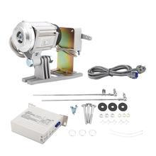 חיסכון באנרגיה סרוו מנוע 220v 550W אנרגיה חיסכון Brushless סרוו מנוע למכונת תפירה תעשייתית