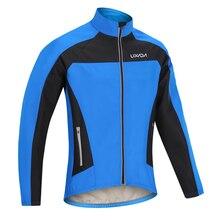 Lixada флисовые утеплённые велосипедные куртки осень зима теплая велосипедная одежда флисовая ветрозащитная ветровка пальто Джемперы для езды на горном велосипеде