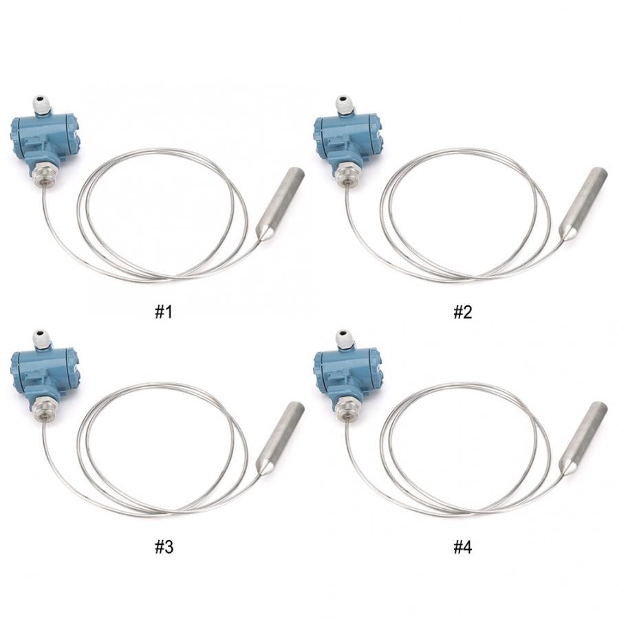 Transmetteur de niveau d'entrée haute température gainé d'acier inoxydable capteur de niveau de liquide 4-20MA