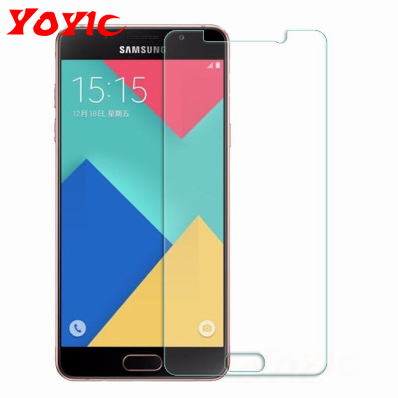 YOYIC 9H Tempered Glass For <font><b>Samsung</b></font> Galaxy <font><b>A3</b></font> A5 A7 2015 2016 <font><b>2017</b></font> ON5 ON7 Glass <font><b>Screen</b></font> <font><b>Protector</b></font> Protective Glasss Film image