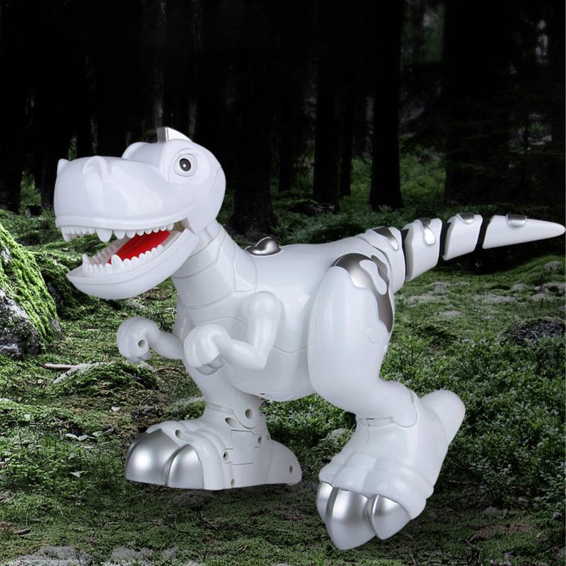 Intelligent Remote Control Toy For Children Electric Robot Multi function Music Lighting Touch sensing Dinosaur Toy Gift Box