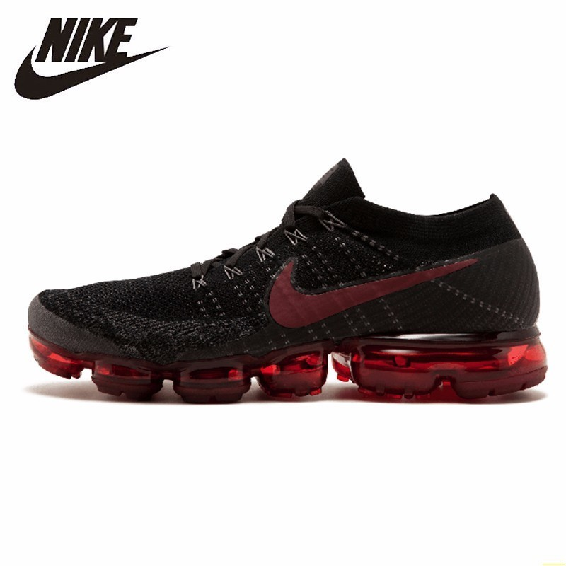 Nike Air Vapormax Flyknit Men Running Shoes New Arrival  Breathable Comfortable Cushion Sneakers#849558-013