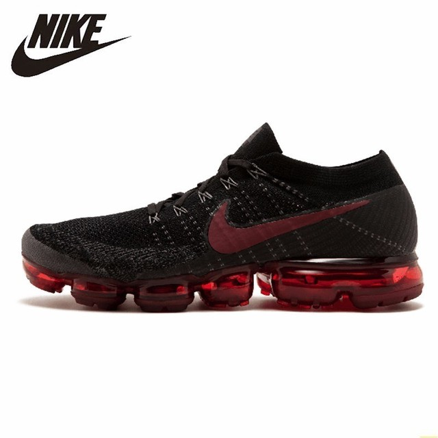 a9bf9e4605284 Nike Air Vapormax Flyknit Men Running Shoes New Arrival Breathable  Comfortable Air Cushion Sneakers#849558-013