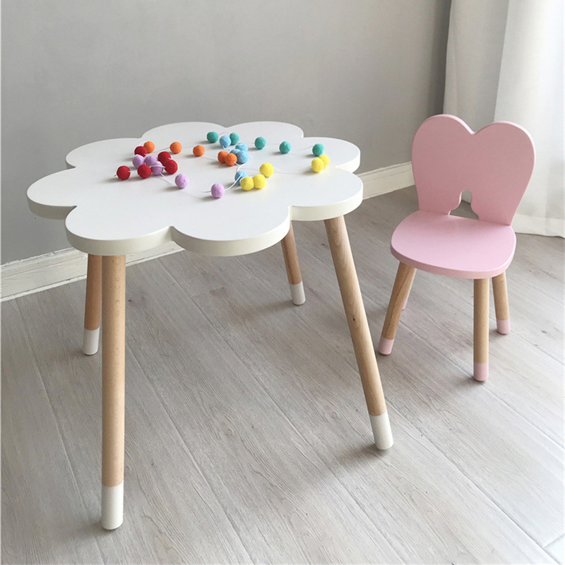 Wooden Kids Animal Chair Bunny Chair Children Furniture Wooden Bunny Vanity Stool Newborn Easter Gift Nursery Decor 2019 Newest