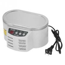 1 шт. миниатюрный Ультразвуковой очиститель 600 мл 40 кГц ультразвуковой очиститель машина Ta-nk AC 220V 50Hz высокого качества