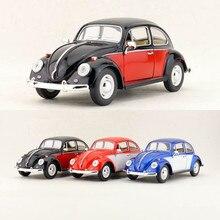 Spedizione gratuita/KiNSMART Toy/modellino pressofuso/scala 1:24/1967 Volkswagen classic Beetle Car/collezione educativa/regalo per bambino