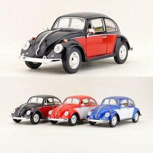 Image 1 - Spedizione gratuita/KiNSMART Toy/modellino pressofuso/scala 1:24/1967 Volkswagen classic Beetle Car/collezione educativa/regalo per bambino