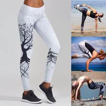 Женские свободные брюки в стиле бохо с рисунком деревьев тайские