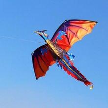 3D Дракон 100 м воздушный змей одиночная линия с хвостом воздушные змеи для улицы забавная игрушка воздушный змей семейная спортивная игрушка для игр на открытом воздухе дети Дети Новые
