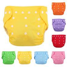 4a04890dc1e13 Reutilizable bebé pañales de tela de red suaves lavable tamaño ajustable de  algodón Bebé Pantalones bragas