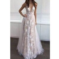 Сексуальное женское платье Vestido белое перспективное кружевное с глубоким v образным вырезом и блестками длиной до пола макси платье с откры