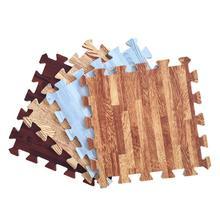 30x30x1cm Baby Split Joint Puzzle Mat Wood Grain Play Creeping Climbing Game Pad - 6pcs/set