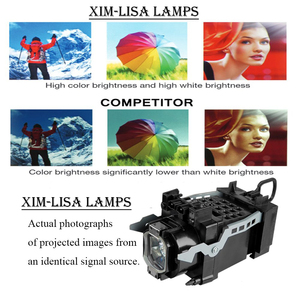 Image 2 - NEW TV Lamp XL2400 XL 2400 for SONY KDF 46E2000 KDF 50E2000 KDF 50E2010 KDF 55E2000 KDF E42A10 Projector Bulbs Lamp with Housing
